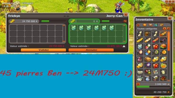 Stuff Enu 200 multi/rall Pm et gros XP en Ben