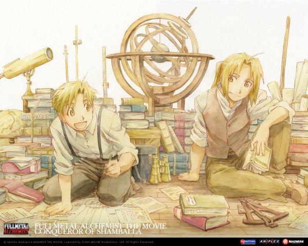 "Présentation manga n°2 : ""Fullmetal Alchemist"""