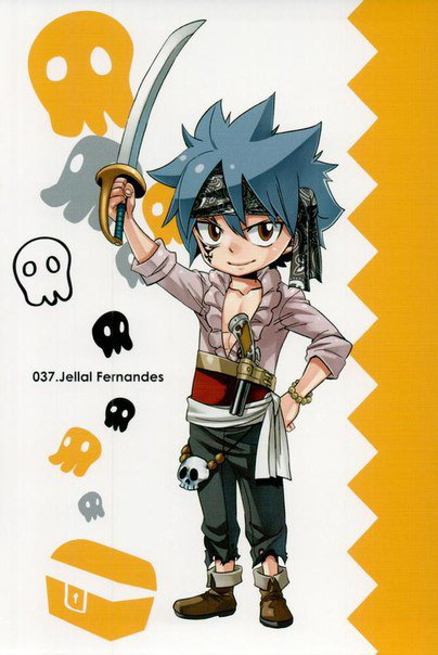 Article image n°2 : Cartes postales Fairy Tail partie 5