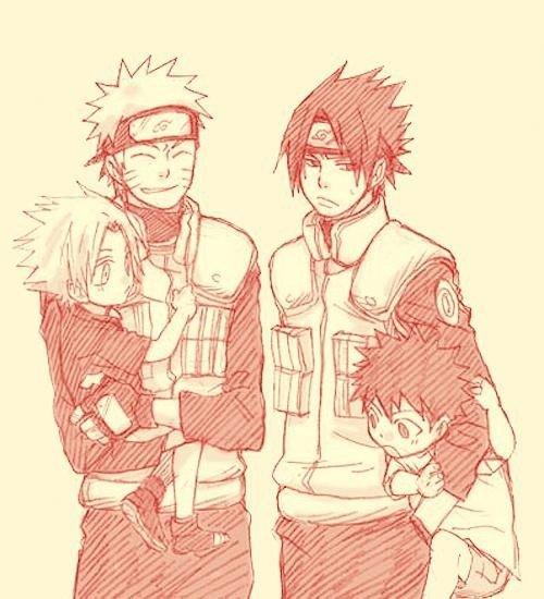 Images Famille SasuNaru