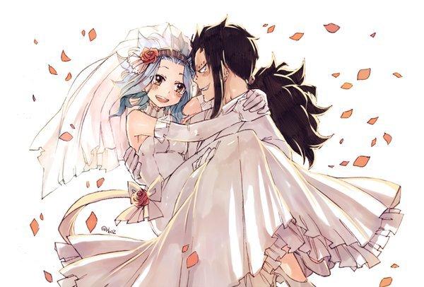 Les mariages à Fairy Tail