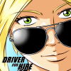 Ilustration couleur du manga driver for hire .