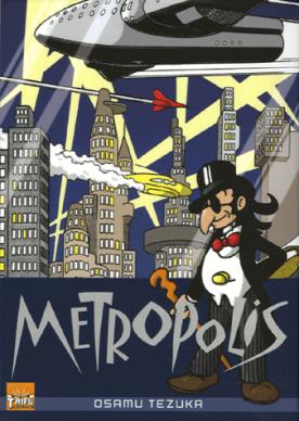 Métropolis, de Osamu Tezuka