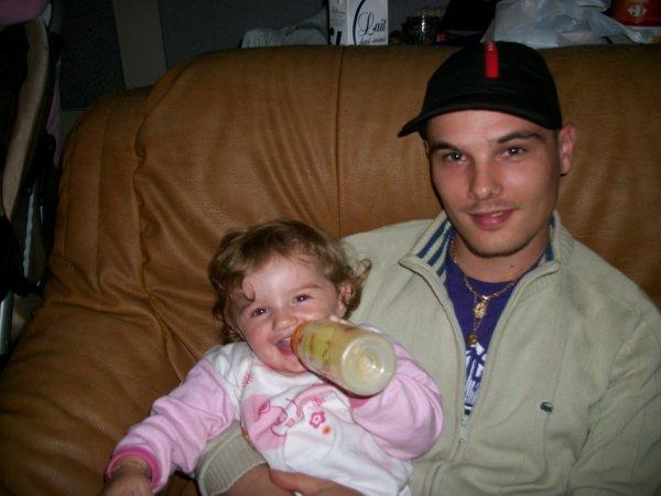 ma princesse et son papa
