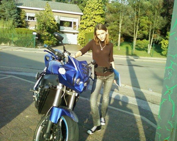 moi avec la moto d'un pote