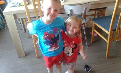 mes deux petits monstres d'amour