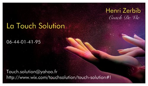 Carte De La Touch Solution