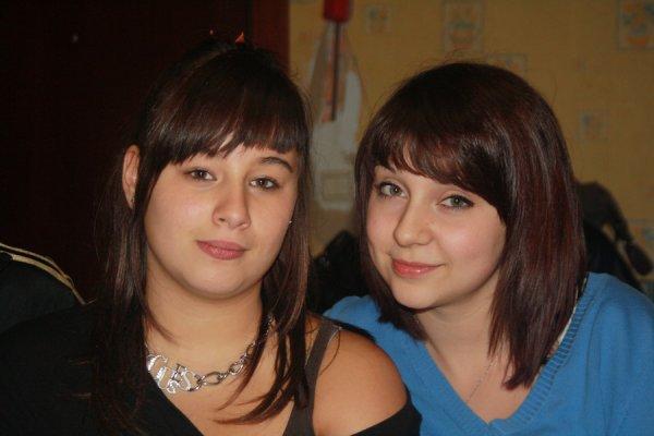 Noémie et Leila !