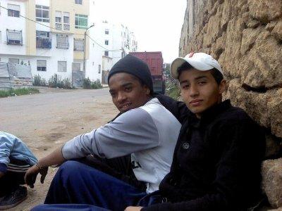 moi avec mon ami anas