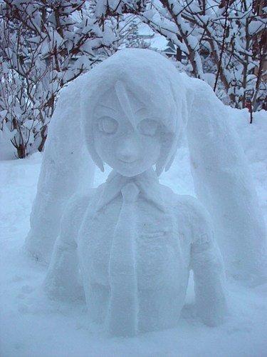 la Miku des neiges