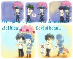 Fairy Tail couple Gray et Juvia <3 ^^