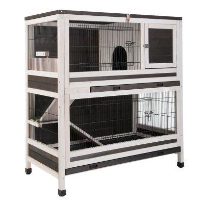 Dessin de la cage «lounge» pour lapin