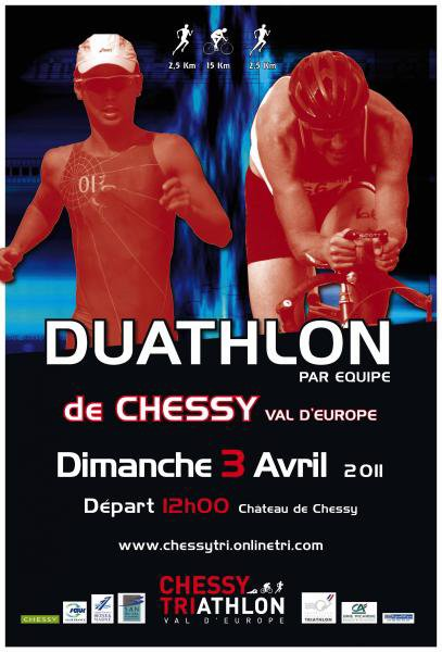 CLM Duathlon par équipes de CHESSY - Sélectif coupe de France des clubs
