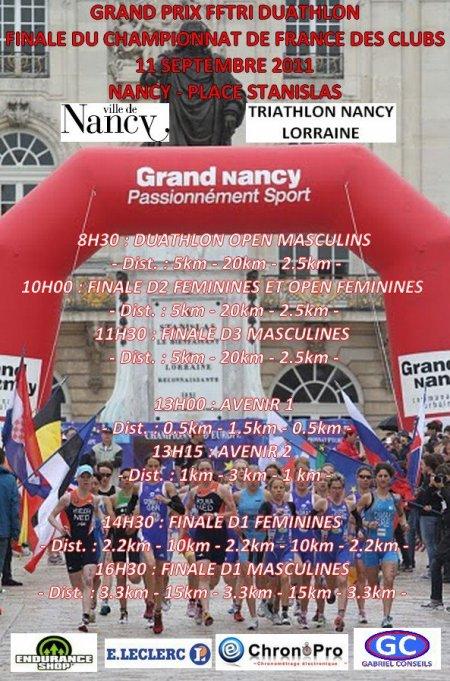 Finale championnat de France D3 de duathlon