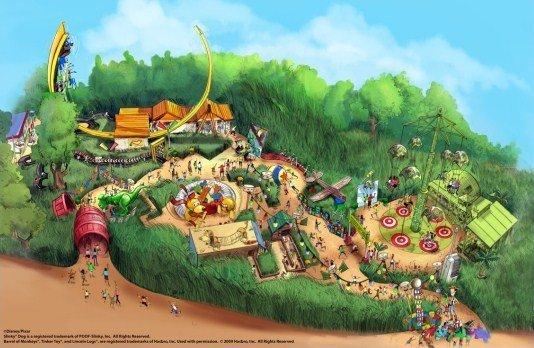 Attraction Disney