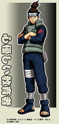 N°6 iruka sensei