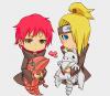 Sasori and Deidara-sempai❤ are so kawaii! *w*
