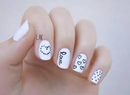 Le nail art des amoureux