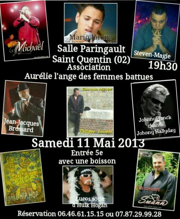 Saint Quentin (02) 11 Mai 2013
