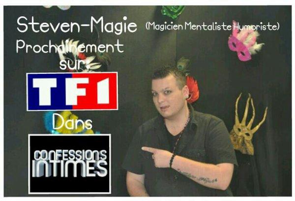 Steven-Magie sur TF1