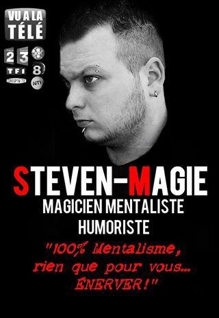Nouvelle affiche du show de Steven-Magie