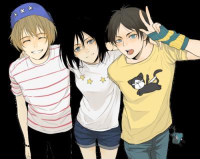 Shingeki no School - Chapitre 1