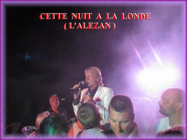 QUE  DE  MONDE  A  L ' ALEZAN  CETTE  NUIT ......