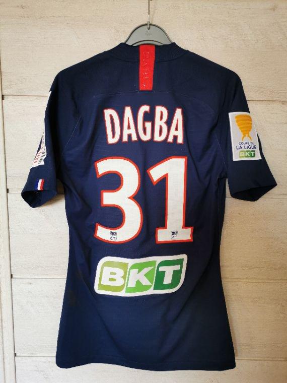 Maillot PSG Dagba CDL 2019-2020.