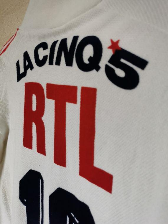Maillot PSG Su¨ić porté saison 88-89