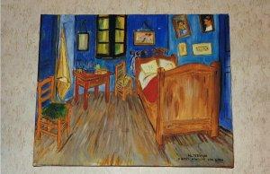 LA CHAMBRE D'ARLES (d'après Vincent Van Gogh)
