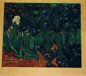 LES IRIS (d'après Vincent Van Gogh)