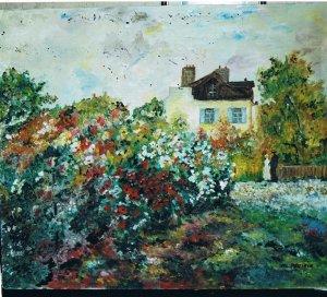 GIVERGNY (d'après Claude Monet)