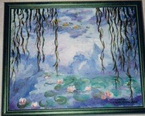 LES NYMPHEAS (d'après Claude Monet)