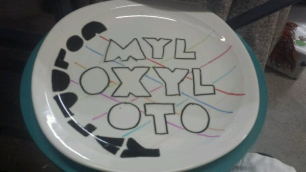 Assiette Coldplay