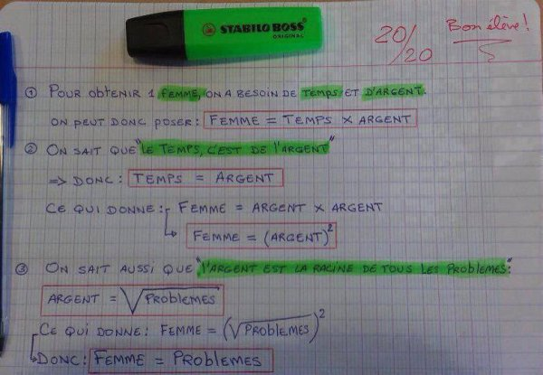 Les maths :)