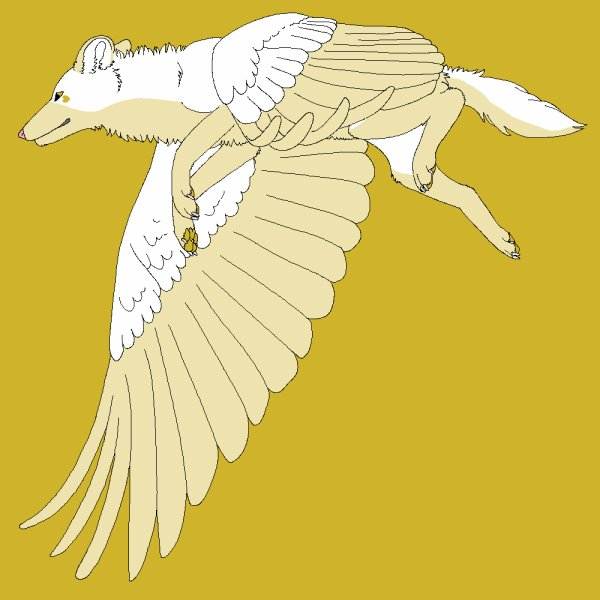 Nyméria, la louve géante