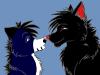 Nyméria(moi) et Kiba