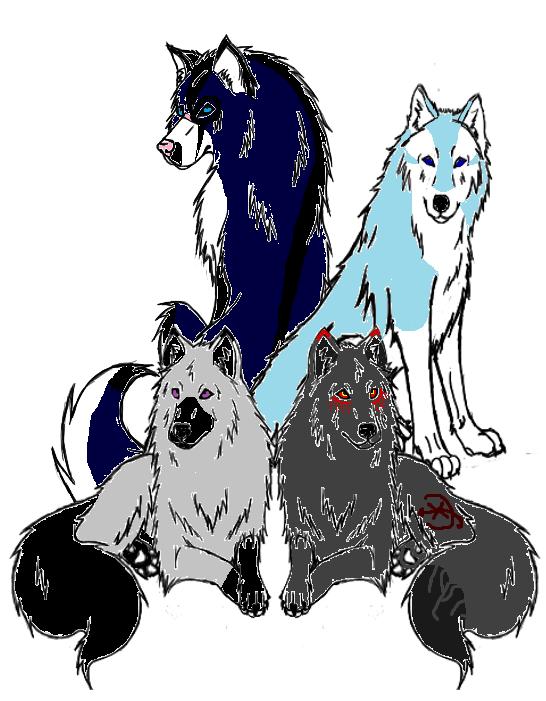 Nyméria, Nad,Asha et Ketsueki