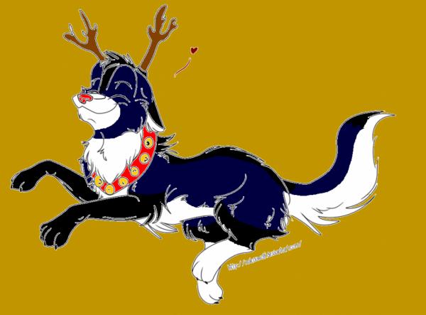 Nyméria, la renne de Noël