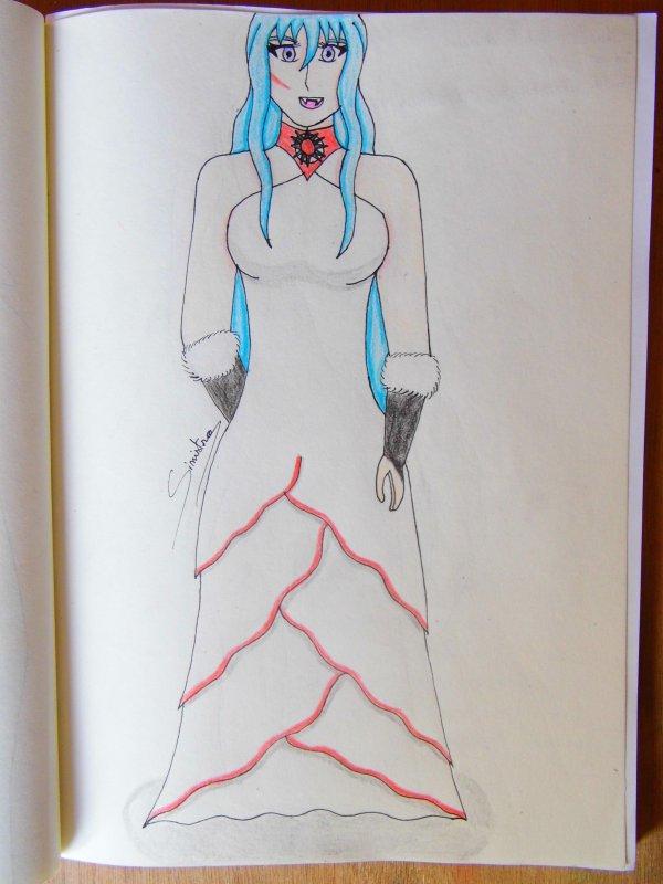 Callidora, la vampire Sang Pur