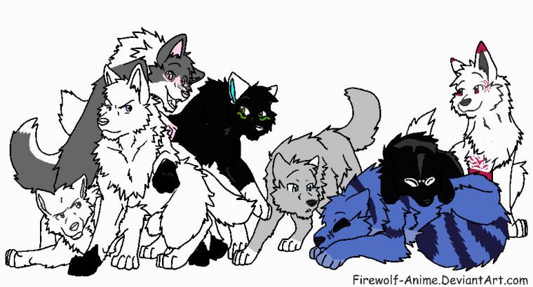 Claymore, Lune,Fox,Hako,Banja,Yuki Meigetsu, Ayasha et ...