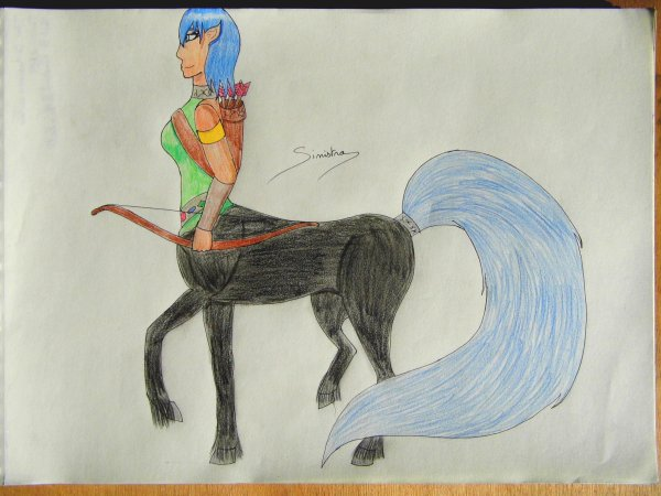 Tin'dra, la centauresse archère