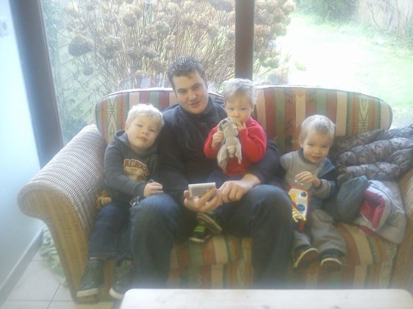 Mes amours Wyatt Jessy riley et le papa
