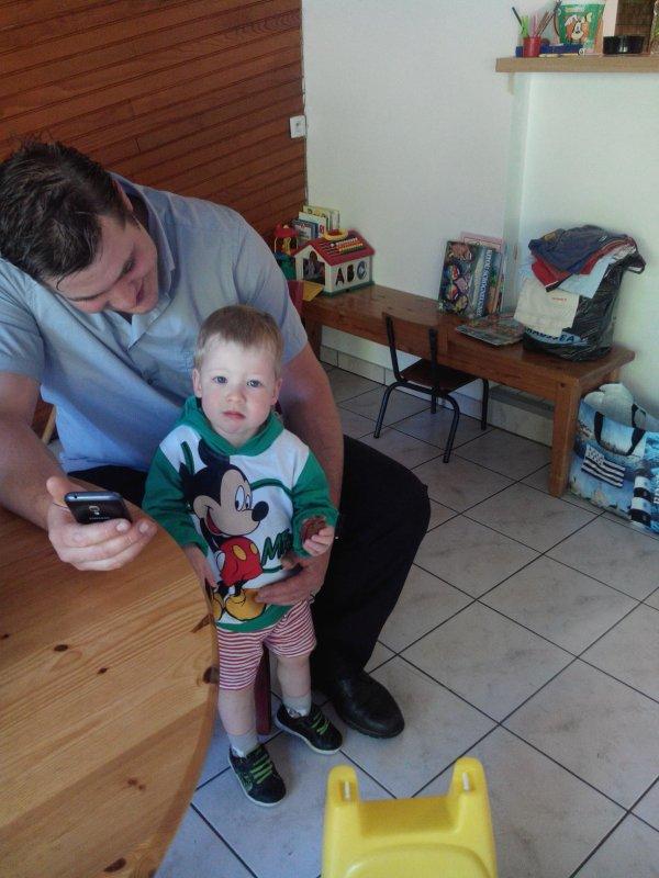 Mes amours Wyatt Jessy riley et le papa