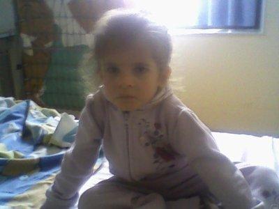 ma fille que j'aime de tous mon coeur