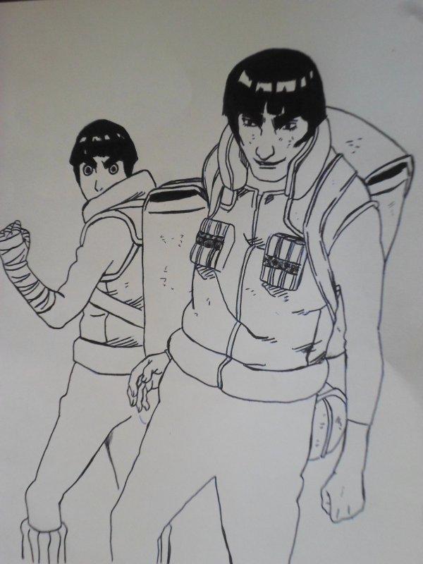 en mode dessin mangas