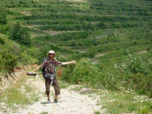 Yann Durand, le slameur, a marché 750 km de La Rochelle à Montpellier