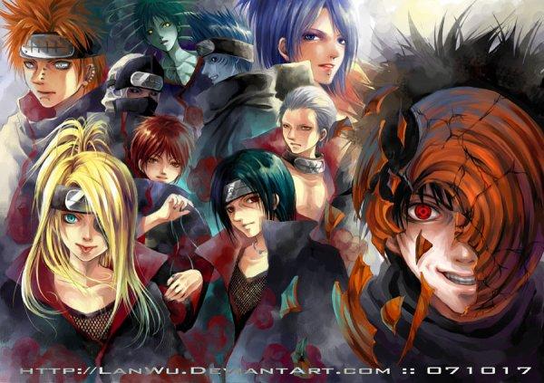 """Fanfic Naruto Shippuden ~ """"Un Ciel Rougeâtre"""""""