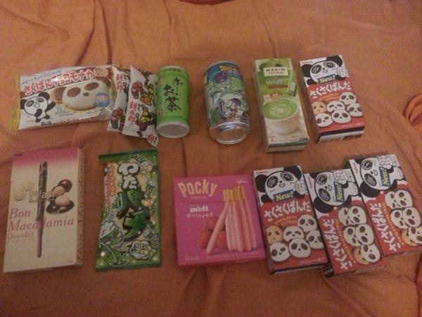 Dégustation de produits Japonais \ O /