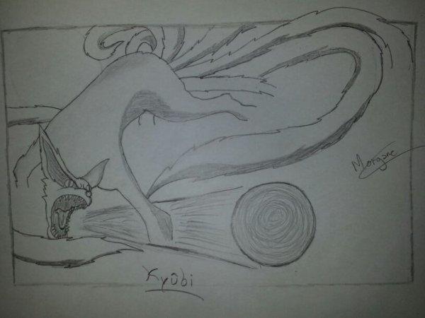 Kyûbi en dessin :)